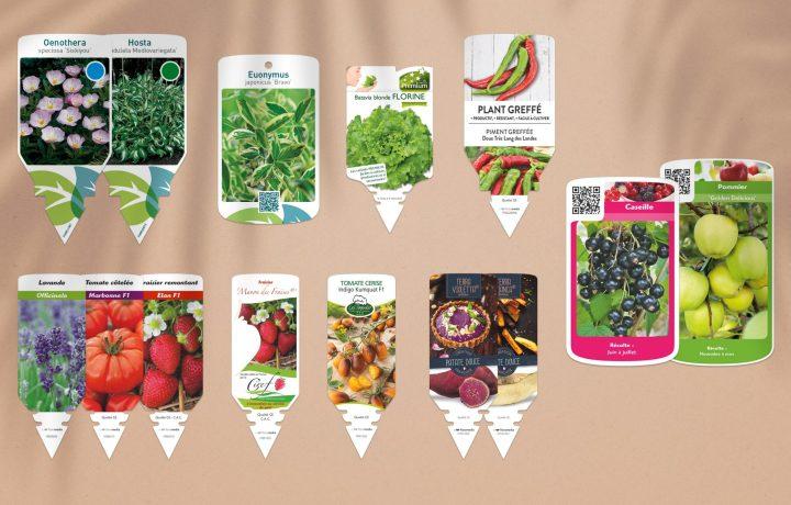 Floramedia - Chromos stock plantes - étiquettes horticoles